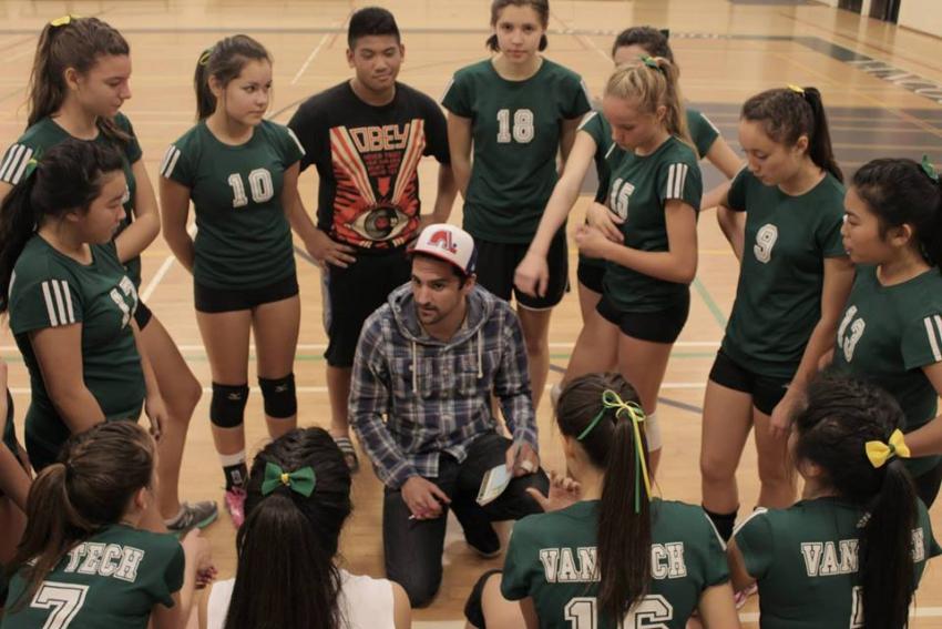 Van Tech Volleyball