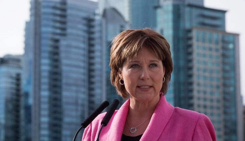 Premier Christy Clark announces changes to end house flipping