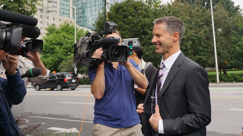 Nigel Wright at Ottawa Courthouse. Elizabeth McSheffrey photo/VO
