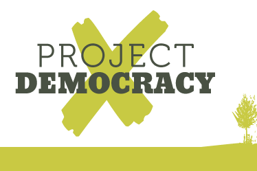 democracy project The marquette democracy project brings social-movement theories to life by engaging the subjects of these theories—today's activists fighting for democracy and social justice around the.