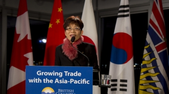 Trade Minister Teresa Wat trade mission. Photo by Province of BC