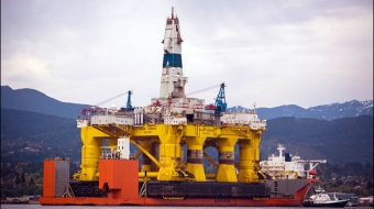 shell oil, oil rig, seattle, activists, B.C., inside passage, alaska,