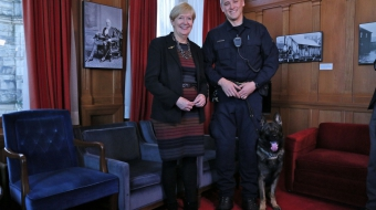 Province releases new guidelines for police dog deployment