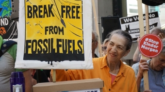 Kinder Morgan, Trans Mountain expansion, pipeline protest, Vancouver, Break Free
