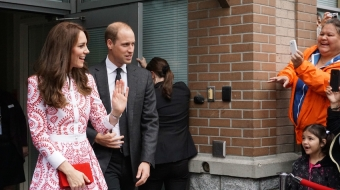 Prince William and Kate at Sheway in Vancouver