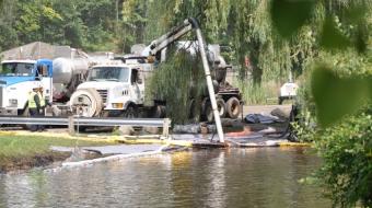 Enbridge, oil spill, Kalamazoo River, Michigan
