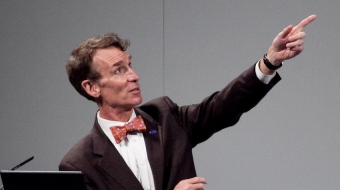 Bill Nye will receive SFU honorary award. Photo by  Ed Schipul via Flickr