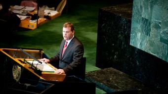 John Baird - United Nations - DFAIT photo - 2011