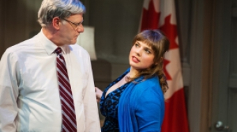 Andrew Wheeler and Emmelia Gordon in PROUD at the Firehall Arts Centre