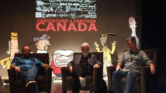 Canucks at Satire Fest