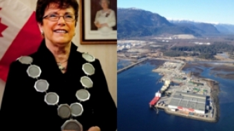 Kitimat Mayor Joanne Monaghan and Kitimat Port