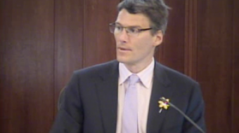 Mayor Gregor Robertson, chairing April 15 City Council meeting