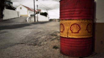 Shell Oil drum