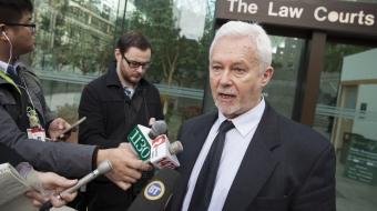 Alan Dutton anti-SLAPP Kinder Morgan NDP bill - Mychaylo Prystupa