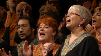 Universal Gospel Choir members