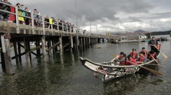 Heiltsuk protest herring commercial fishing in Bella Bella