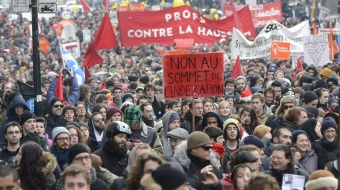 Protest against Bill C-51