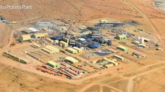 Bisha gold mine in Eritrea