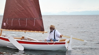 Still from 'Building a Dream' documentary. Photo courtesy Wooden Boat Festival