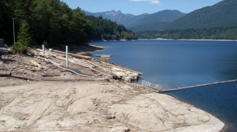 Capilano reservoir supply is shrinking