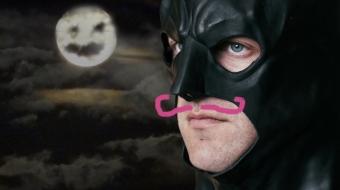 Charles Ross as the Dark Knight