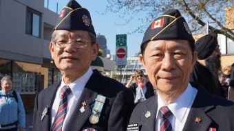 War veterans, tuskegee airmen, Chinese Canadian war veterans