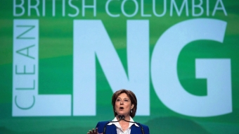 BC Premier Christie Clark addresses the LNG in BC Conference, Oct 2015