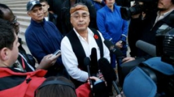 Former Nuu-chah-nulth tribal council president Cliff Atleo
