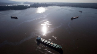 English Bay, English Bay spill, Canadian Coast Guard, WCMRC, Marine response
