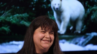 Marilyn Slett, chief of the Heiltsuk Nation