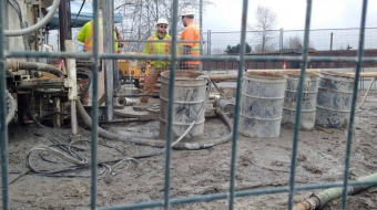 Trans Mountain pipeline drilling New Westminster Kinder Morgan
