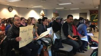 Full House at VSB meeting