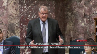 grizzly trophy hunt Minster Steve Thomson BC legislature Vancouver Observer