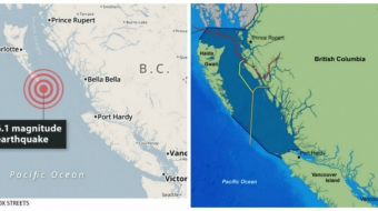 Environment, Haida Gwaii, Northern Gateway pipeline, earthquake, LNG