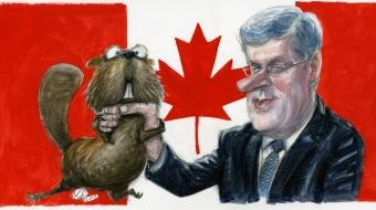 Prime Minister Harper, Bruce Livesey, federal election 2015
