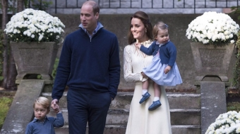 Prince William, Kate and family