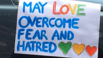 May love overcome fear and hatred