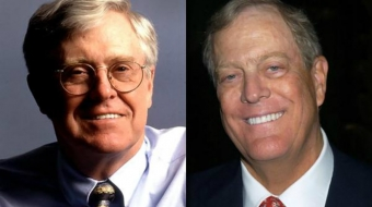 Koch brothers, Koch industries, oil sands