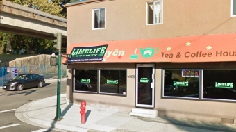 The police drug unit has been watching the store on Vanness and Rupert streets s