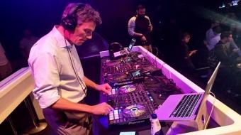 Mayor DJs the VisionPride kick-off at Celebrities. Photo: Twitter/@StepanVdovine