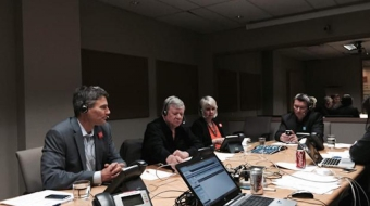Gregor Robertson, Bill Good, Adrienne Carr, George Affleck