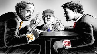 FEDERAL ELECTION: The nation's high-stakes poker game