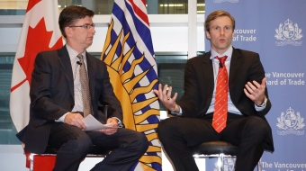 New Brunswick, Premier Brian Gallant, Vancouver Board of Trade, Iain Black