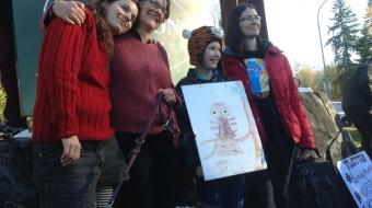 Photo of Lucy Lambert, left, and Shaena Lambert by Nicole Rycroft.