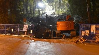 Kinder Morgan pipeline incident November 2014