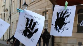 Oxford University divest hand in degrees National Observer Vancouver Observer