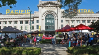Pacific Central Station - Main Street Farmer's Market