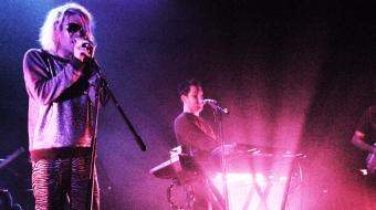 Ariel Pink performs at the Rickshaw.
