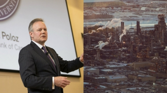 Photos (of Stephen Poloz) by Bank of Canada - Banque du Canada and Kris Krug