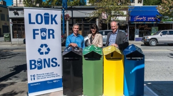 New street recycling pilot program launched in the West End